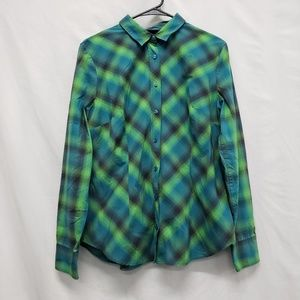 New York & Company Dress Button front Shirt